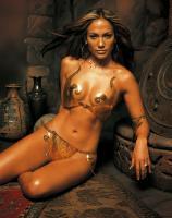 Jennifer Lopez metal bikini