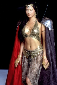 Kelly Hu the Scorpion King the sorceress