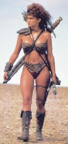 Rebecca Ferratti warrior Talena Gor