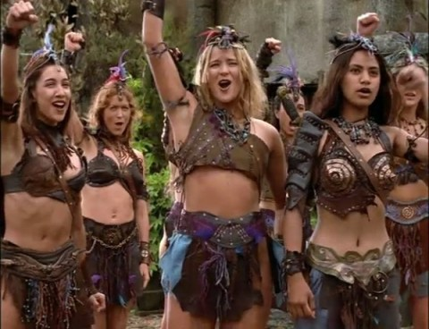 Amazons Xena Warrior Princess