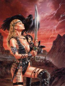luis royo swordwoman