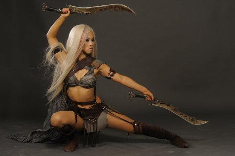Selina Lo i the Scorpion King 3