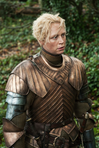 Gwendoline Christie - Brienne of Tarth game of thrones armor