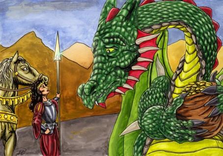 Julia grälar på Draken - behandlad