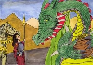Julia Grälar på Draken om Guldet