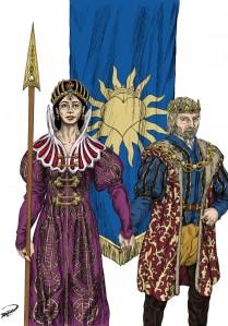 Drottning Maral & Kung Kefas basfärger