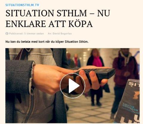 Situation Stockholm kort betalning