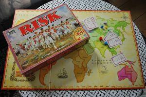 Risk Parker Brothers brädspel svenska_1