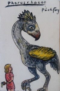 Albin & phorusrhacos akvarelltest