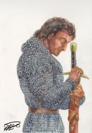 Jaron del Liral bön Akvarell