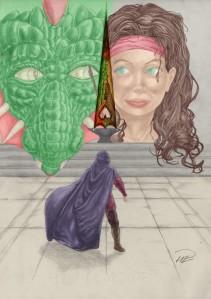 Prinsessan Julia - Hjärtespjutet Bokomslag färglagd v1 resize