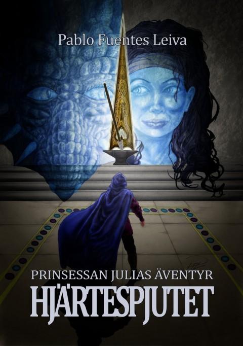 Prinsessan Julia Hjärtespjutet bokomslag behandlad + text