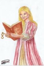 Amanda akvarelltest