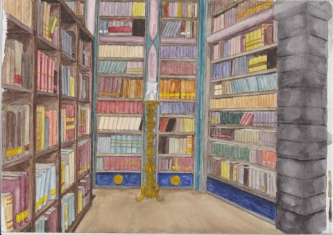 Biblioteket Stora Läsesalen