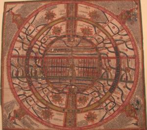 Jain cosmic map