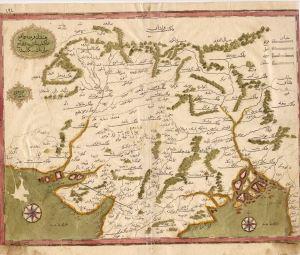 Mughal-riket i norra Indien 1732