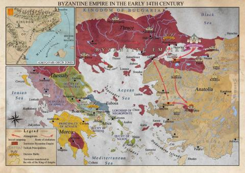 Almogavars and the Byzantine Empire 14th Century