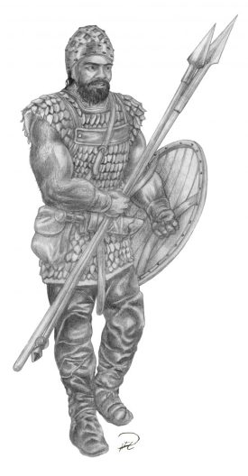 Almutamer helfigur Almogavars