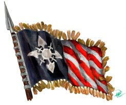 Almutamers flagga