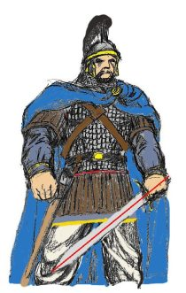 Arakansk Befälhavare -färgtest Byzantium Bysans_1