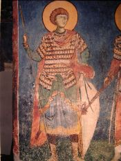 warrior-saint-nerezi-church-serbia