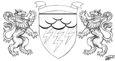 julians-emblem-vapenskold-lejon-blixtar