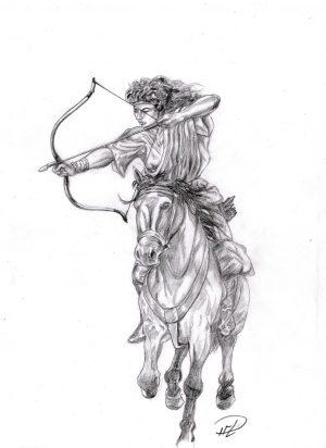 corinna-tranar-bagskytte-t-hast-horse-archer