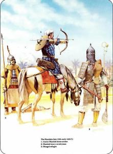 mamluk-archery-angus-mcbride