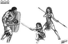 Yakane vs Kati & Corinna träning