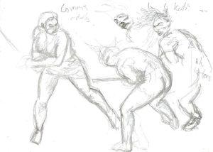 skisser-kati-corinna-svardstraning-sparring