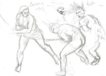 Utkast sparring Kati & Corinna